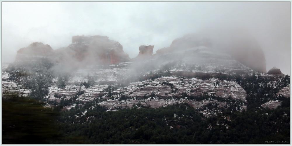 photoblog image Snow Covered Sedona