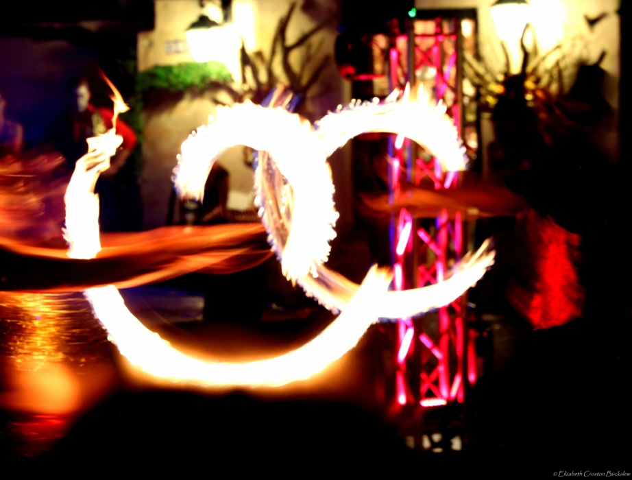 photoblog image Fire Dancers