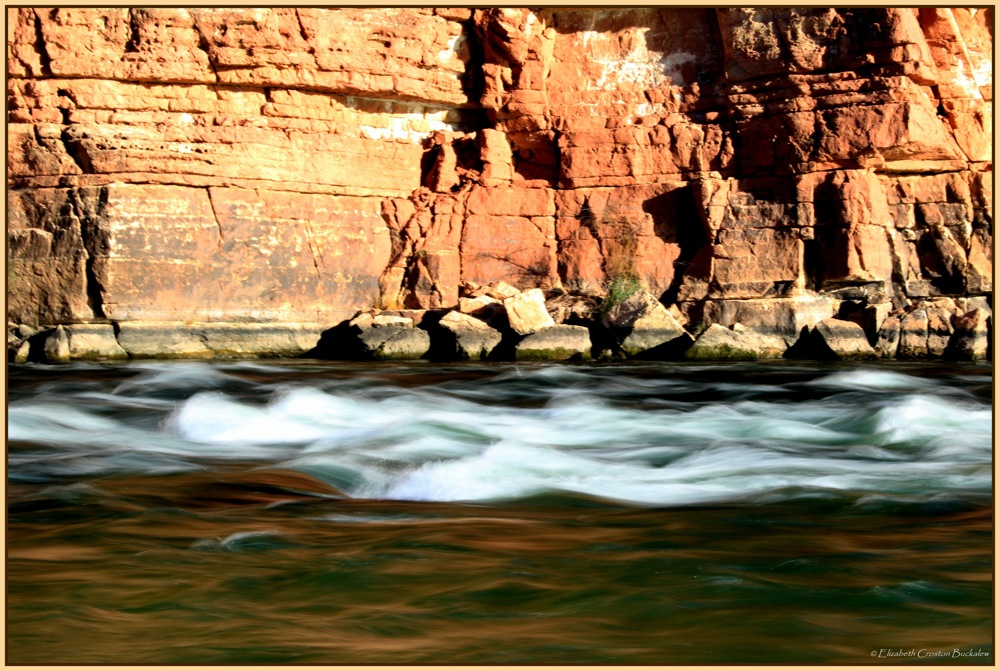 photoblog image Paria River Riffles on the Colorado